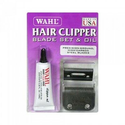 Wahl Hair Clipper Replacement Blade Set & Oil