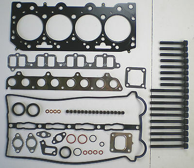 HEAD GASKET SET AND BOLTS KIA SEDONA CARNIVAL HYUNDAI TERRACAN 2.9 CRDi 2002-07