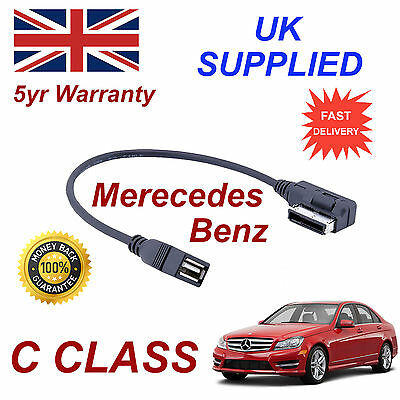 Mercedes Benz C CLASS MP3 MEMORY Stick USB Cable Media Interface