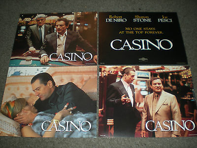 Casino - Original Set Of 8 X 10 Lobby Cards - Brand New And Sealed!