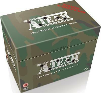 "The A Team Complete Series Collection 27 Disc Dvd Box Set R4 ""New&Sealed"""