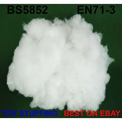 Toy Stuffing Super Soft Premium Grade Polyester Fibre Filling BS5852 & EN71-3