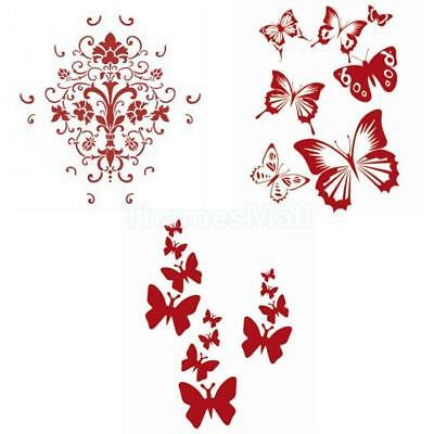 Reusable Butterfly / Dolphin Stencil DIY Wall Decoration Art Painting Craft Gift