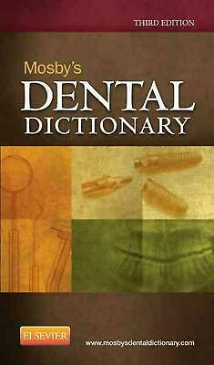 Mosby's Dental Dictionary by Mosby Paperback Book (English)