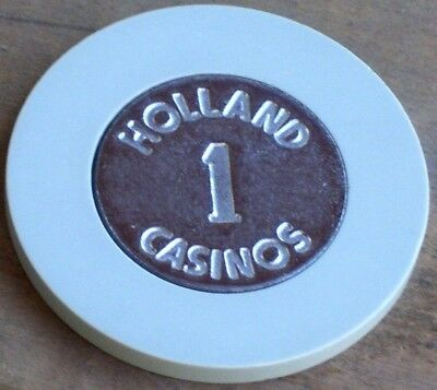 1 Euro Gaming Chip From The Holland Casino Hotel Amsterdam