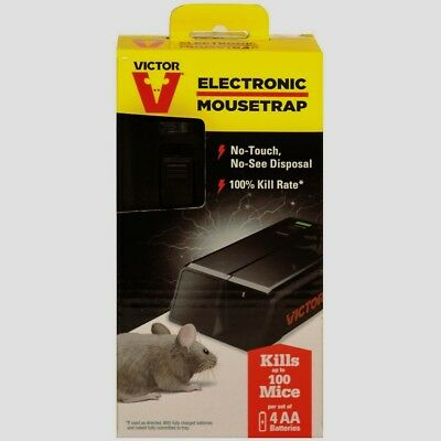 New!!! VICTOR Electronic Mouse Trap No Touch Reusable Battery Pest Control M2524