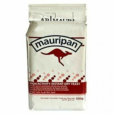 Mauripan 500g Instant Dried Yeast For Bread Bakers Bakery