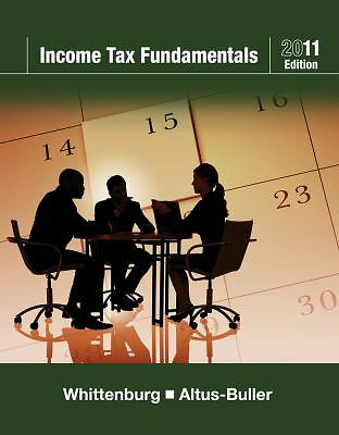 Income Tax Fundamentals 2011 (with H&R BLOCK At Hom