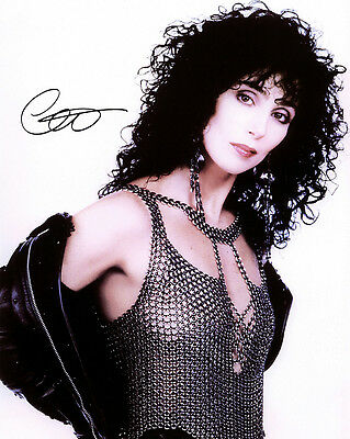 Cher (Music) Signed Photo Print 03