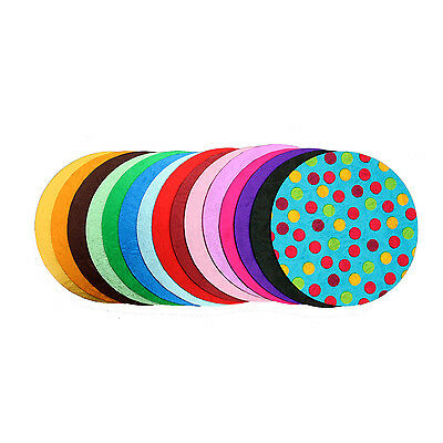 4mm Thick Round Foil Cake Boards Cakeboards in Multiple Colours and Sizes