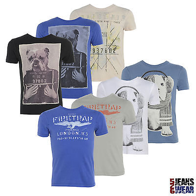 FIRETRAP Boys Graphic Printed Designer T-Shirts, Assorted Styles & Colours