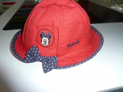 DISNEY Really Cute Little Red MINNIE MOUSE Hat NWT