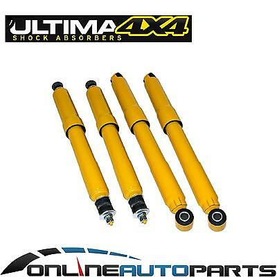 Front + Rear Gas 4wd Shock Absorbers for Nissan GQ Y60 GU Y61 Patrol Wagon 88-12