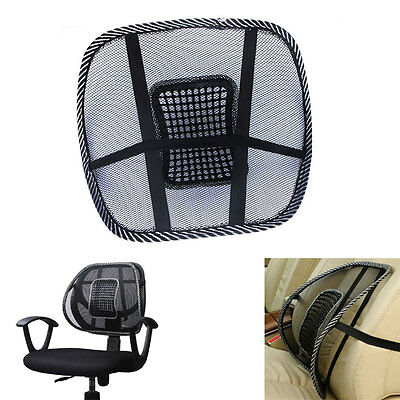 LUMBAR SUPPORT Back Car Support Seat Cushion Portable Office Seat Chair Massage