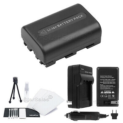 NP-FM50 Battery + Charger + BONUS for Sony DSC-R1 F707 F717 F828 S30 S50 S75 S85