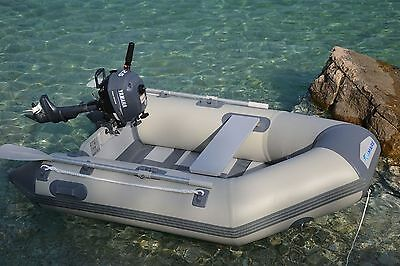 A0228 Tender Viamare 230 Slat Carpfishing Spinning Barca Mare Lago Boat Fiume
