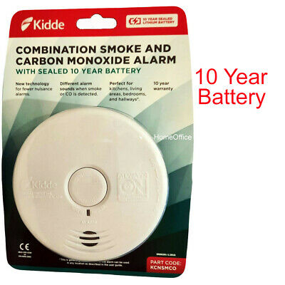 Kidde Combined Carbon Monoxide And Smoke Alarm Combination