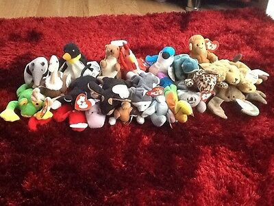 Ty Beanie Babies With Tags Lots To Choose From Combined Postage For Better Value