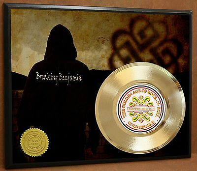 Breaking Benjamin Poster Art Gold Record Music Memorabilia Display Free Shipping