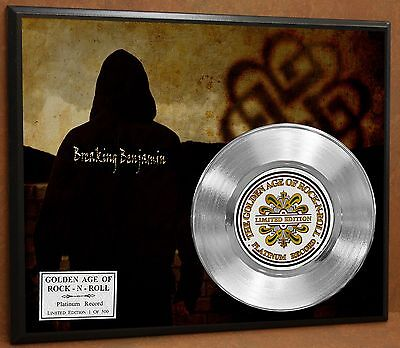 Breaking Benjamin LTD Poster Art Platinum Record Music Memorabilia Free Shipping