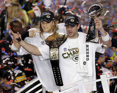 Green Bay Packers Super Bowl Champions 02 (American Football) Photo Print