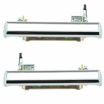 Outer Outside Exterior Door Handle Pair Set LH Left & RH Right for Chevy