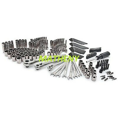 Craftsman 220 pc Mechanics Tool Set Ratchet Combination Wrenches ~Tools Only NEW