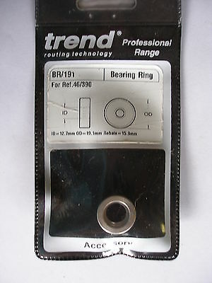 Trend Router Accessories Bearing  Ring BR/191