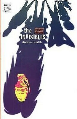 Invisibles rivoluzione invisibile di Grant Morrison ed.Magic Press sconto 50%