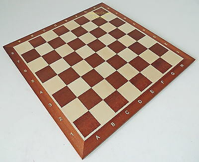 BRAND NEW TOURNAMENT NR 6 WOODEN CHESS BOARD 52cm