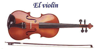 Violin for Children Violiono bambini Violín para niños Bridge/St MADE IN GERMANY
