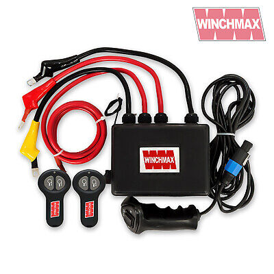 Complete 12V Wireless Winch Control Box System Winchmax Quality