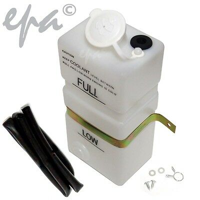 Brand New Universal Radiator Overflow Reservoir Tank Bottle + Recovery Unit