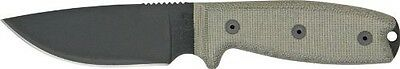 NEW ONTARIO 8630 RAT-3  FIXED BLADE KNIFE USA WITH BLACK SHEATH SALE PRICE