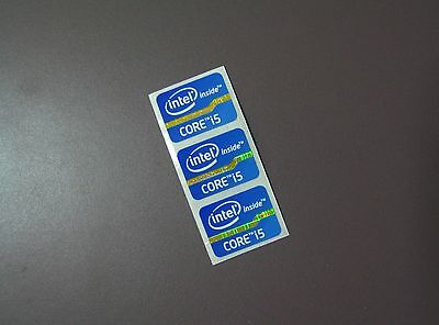5pcs  NEW inter i7 CORE inside 21*15.5mm Sticker Badge Label Logo bule ST067