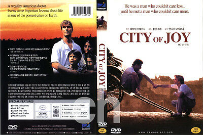 City of Joy (1992) - Roland Joffé, Patrick Swayze, Pauline Collins  DVD NEW