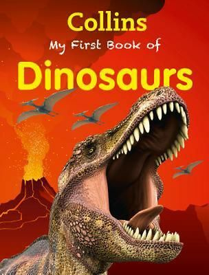 My First Book of Dinosaurs by Collins Paperback Book