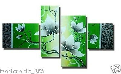 4 pieces Large Modern Abstract Art Oil Painting Wall Decor canvas NO frame
