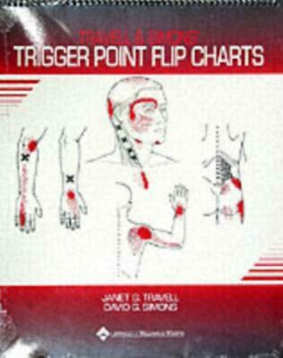 Travell and Simons' Trigger Point Flip Charts by Janet G. Travell Paperback Book