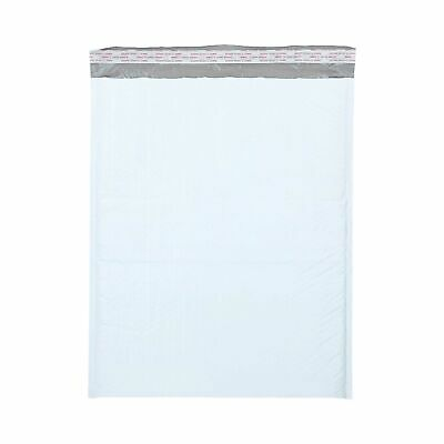 "50 #7 Poly Bubble Mailers Padded Envelopes White Bags 14.25"" x 20"""