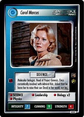 Star Trek CCG The Motion Pictures George and Gracie NrMint-Mint