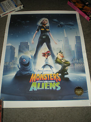 Monsters Vs. Aliens - Limited Edition Litho Print W/coa
