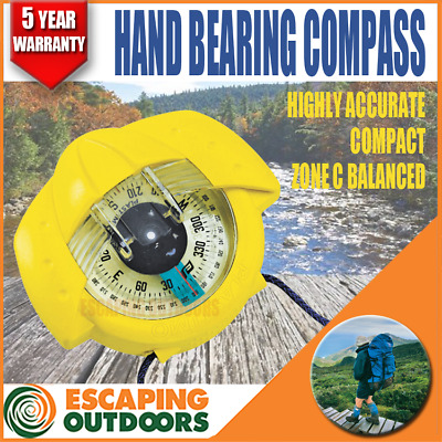 Plastimo HANDHELD HIKING COMPASS High Quality Highly Accurate 5yr Warranty