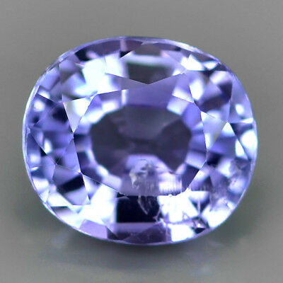1.16ct 6.5x6mm Cushion TOP SPARKLE Natural Violet Blue TANZANITE GEM #310821