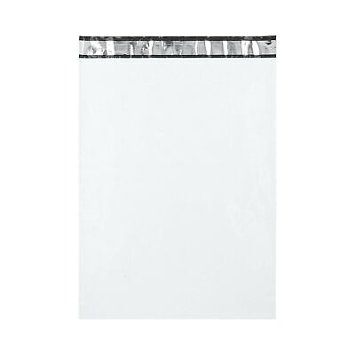 """200 14x19 White Poly Mailers Envelopes Bags 14"""" x 19"""", 2.5 Mil"""
