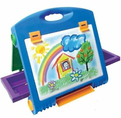 Deluxe Artist Table Top Drawing Art Easel Folding Portable Kid Travel Set 053783