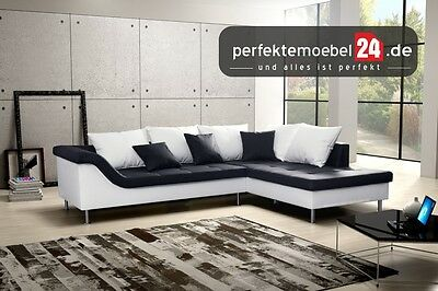 couch mit schlaffunktion eckcouch sofa polstergarnitur delta ecke. Black Bedroom Furniture Sets. Home Design Ideas