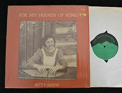 Betty Smith For My Friends of Song June Appal Records 018