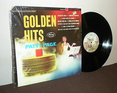 Patti Page ‎– Golden Hits- Condition (LP/Sleeve): VG+/VG+