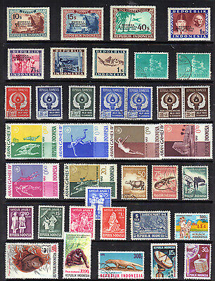 Asia INDONESIA Old Stamp Collection Used REF PA272